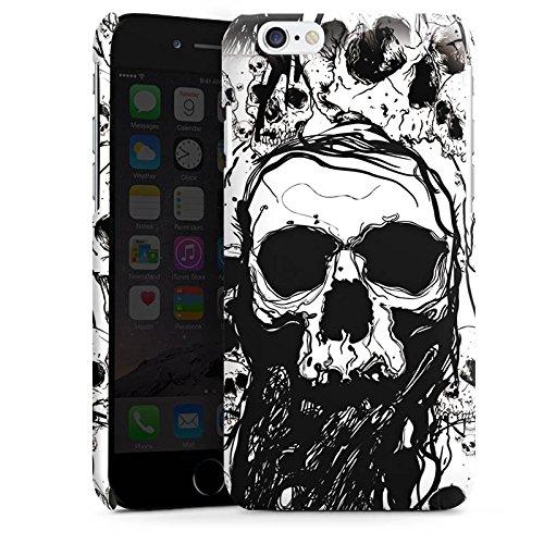 Apple iPhone 5c Housse Étui Protection Coque Crâne Tête de mort Tête de mort Cas Premium brillant