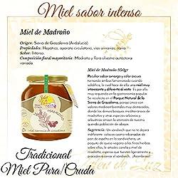 Jalea de Luz Miel Cruda Pura de Madroño - 950 gr.