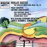 Rózsa: Sinfonia Concertante/Viola Concerto