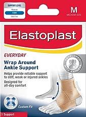Elastoplast Handgelenkbandage, zum Wickeln, Knöchelbandage unterstützen Level–Medium