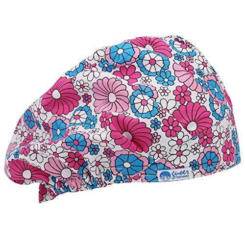 guoer-mdico-de-la-mujer-y-hombres-sombrero-estropajo-estropajo-bouffant-cap-gorro-talla-nica-varios-