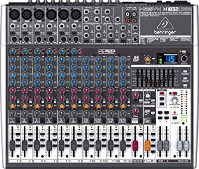 Mixer Analogico Behringer Xenyx X1832USB 18 In FX USB Out Phantom EQ