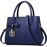 Jeniulet Handtaschen für Damen Mode Damen PU Leder Top Handle Satchel Umhängetaschen