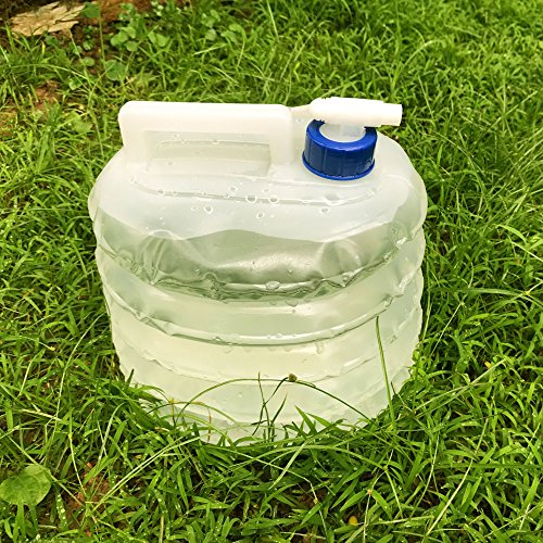 Qinghu 5 Litre //10 Litre //15 Litre Collapsible Water Container Outdoor Activities Water Bucket Portable Water Carriers for Caravans Camping Climbing Travel Hiking Hunting