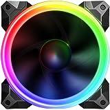 Sahara Gaming 12 cm Pirate Turbo true RGB fan. Compatible with Sahara RGB fan controller only!!. 55 setting, SA-121225RGB