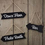 Vintage Affair - Chalkboard Wedding Arrow Signs