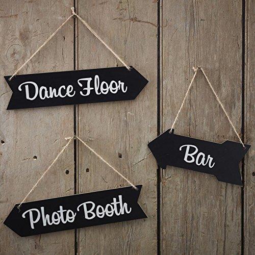 Vintage Affair - Chalkboard Wedding Arrow Signs