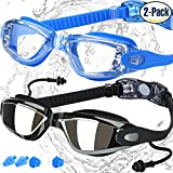 Swimming Goggles, Pack of 2, Swim Glasses - Best Reviews Guide