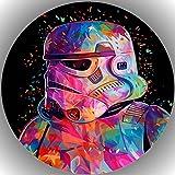Fondant Tortenaufleger Tortenbild Geburtstag Star Wars T34