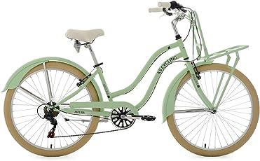 """KS Cycling Damen Beachcruiser Cargo Cruiser 26"""" Melba grün Fahrrad, mintgrün"""