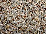 Natursteinteppich-Fliese Classic Line Mix Roma - flexible Bodenfliese für Innen und Außen aus italienischem Marmorkies, Teppichfliese, Marmorteppich, Terassenboden, Poolumrandung - 1m² Paket (4 Stück 50x50 cm)