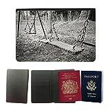 PU Funda para pasaporte // M00157026 Bambino di oscillazione oscillazioni // Universal passport leather cover