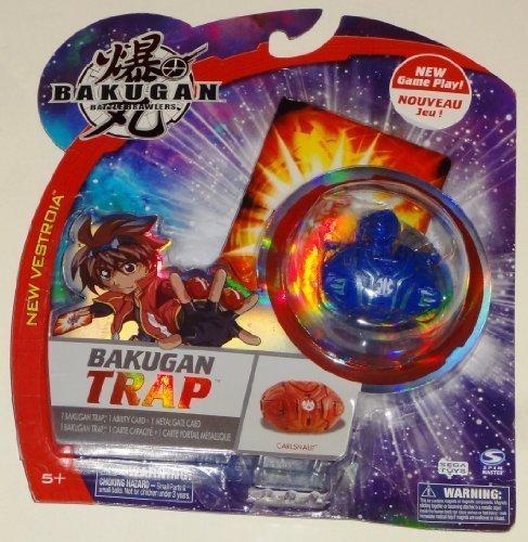 BAKUGAN Trap Carlsnaut Aquos (Blue) by