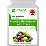 Multivitamin e ferro 180 compresse (dose di 6 mesi) Supporto immunitario - Supplemento multivitaminico One A Day - Prodotto n