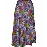 Ali Colours Printed Wrap Around Skirt fo...