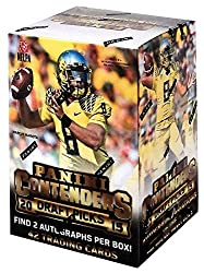 1 (One) Box - 2015 Panini Contenders Draft Picks Football Cards Blaster (7 Packs With 2 Autographs Per Box) By Panini