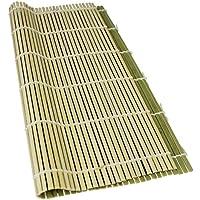 Reishunger Premium Sushi Rollmatte aus Bambus - Für die Zubereitung von Maki-Sushi, 27x27cm [als 1er, 4er und 10er Packung erhältlich]