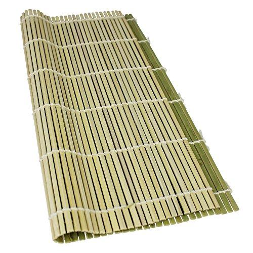 Reishunger Premium Sushi Rollmatte aus Bambus (27x27cm) - Für die Zubereitung von Maki-Sushi - erhältlich als 1er, 4er und 10er Pack