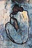 Pablo Picasso Poster Blue Nude (61cm x 91cm) + 1 Traumstrand Poster Insel Bora Bora zusätzlich
