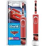 Oral-B Kids Cars Elektrische Zahnbürste für Kinder ab 3 Jahren, kleiner Bürstenkopf & weiche Borsten, 2 Putzprogramme…
