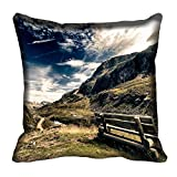 meSleep Nature 60-140 Digitally Printed Cushion Cover (16x16) best price on Amazon @ Rs. 175