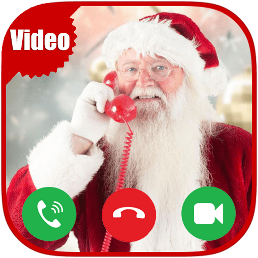 Incoming Video Live Voice Call From Santa Claus Tracker - Free Fake Phone Caller ID PRO 2019 - PRANK FOR KIDS