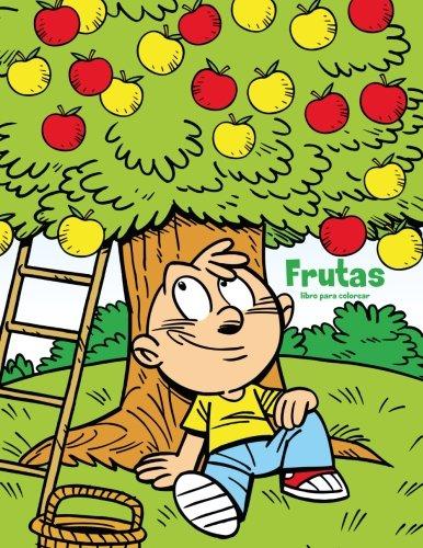 Frutas libro para colorear 1 par Nick Snels