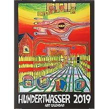 Großer Hundertwasser Art Calendar 2019: Der Klassiker