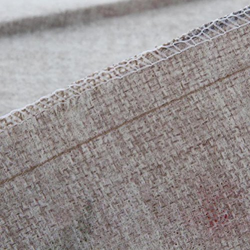 Nunubee Baumwolle Leinen Platz Dekorative Akzente Setzen Fall Sofa Kissenbezug Blatt - 5