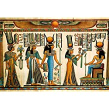 YongFoto 2,2x1,5m Fondos Fotograficos Antiguo Egipto Escena Murales Faraón Jeroglífico Papiro Egipcio