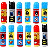 Perpetual Bliss™ (Pack Of 12) Super Hero Theme Pencil Box With Stationary KIT, Return Gifts For Kids Birthday Party (for More Gifts Search For Perpetual Bliss™)