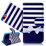 SmartLegend Etui Coque pour Apple iPhone 5C Pochette Protection PU Cuir Wallet Flip...