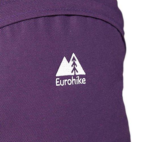 Eurohike Essential 20L Daysack Outdoor Accessori Zaini e Daysacks Nero, Blu Marina, Taglia Unica Porpora