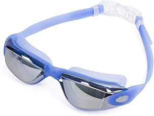 Swimming Goggles - Swim Goggles for Men Women Adult No Leaking UV Protection