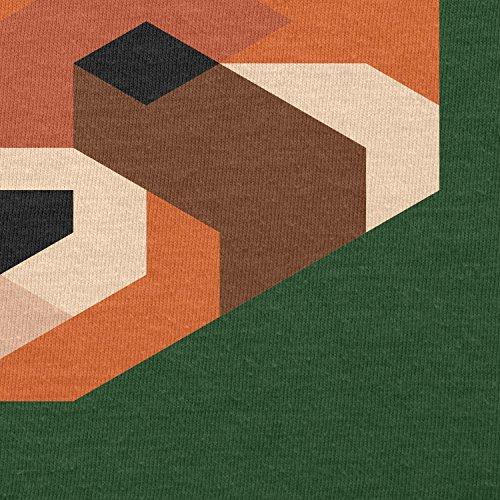 TEXLAB - Simple Paws - Herren T-Shirt Flaschengrün