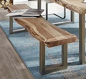 sam sitzbank madras aus akazien holz bank ohne r ckenlehne indisches akazienholz 195 cm. Black Bedroom Furniture Sets. Home Design Ideas