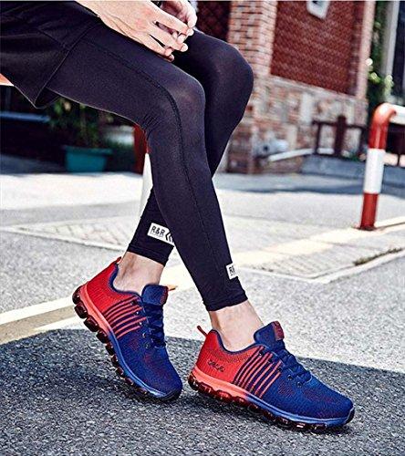 Ben Sports Chaussures de running sur route homme chaussures de course Chaussures de sport homme Baskets mode homme rouge