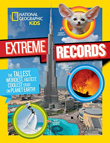 National Geographic Kids Kids Extreme Records (Fun Facts) por National Geographic Kids