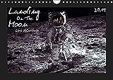 Landing On The Moon Like A Cartoon (Wandkalender 2019 DIN A4 quer): Die Mondlandung im Comic-Stil (Monatskalender, 14 Seiten) (CALVENDO Wissenschaft)