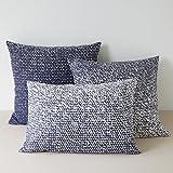 La Redoute Interieurs Kyote Printed Cotton Single Pillowcase White Size 63