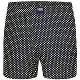 Happy Shorts Boxershorts Herren / Web-Boxer mit Jersey-Innenslip; Modell:
