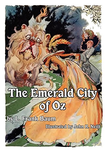 The Illustrated Emerald City of Oz (English Edition)