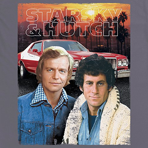 Official Starsky And Hutch Sunset Portrait, Uomo Antracite