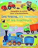 Telecharger Livres Les trains les camions et les tracteurs Complete la scene livre d autocollants volume combine (PDF,EPUB,MOBI) gratuits en Francaise
