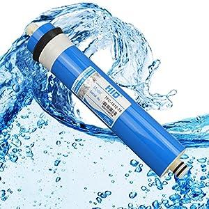 ósmosis inversa filtro ósmosis inversa membrana 75GPD hasta 270L/tagesl. para sistema de Ósmosis filtro de agua contra la cal, salze, Nitrato, las bacterias, virus y los gérmenes.