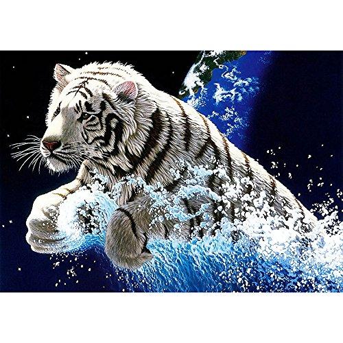 Precioul 5D-Diamantbild, Malen nach Zahlen mit Glitzersteinen,Katze Cartoon Kristallstrass-Stickerei, Kreuzstich, Kunsthandwerks-Zubehör, Leinwand, Wanddekoration Rise Jodhpur