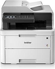 Brother MFC-L3730CDN Kompaktes 4-in-1 Farb-Multifunktionsgerät, weiß