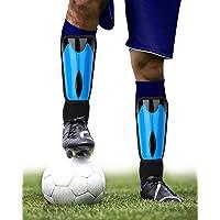 Shin Guards, Shin Pads Mens for Sports, Football Shin Pads Boys for Height 4'9'' to 6'2'', Muay Thai Shin Guards, Size L…