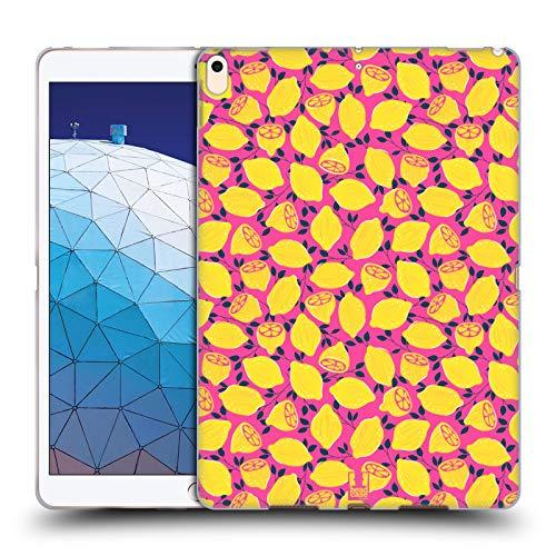 Head Case Designs Zitrone Obst Drucke Soft Gel Huelle kompatibel mit iPad Air (2019)