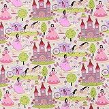 Fabulous Fabrics Baumwollstoff Prinzessin Aurore —